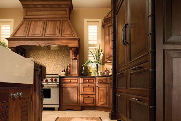 Traditional styled kitchen cabinetry