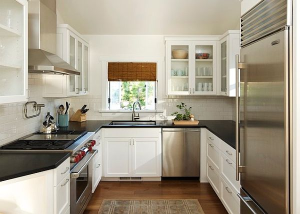 Small kitchen design u shaped layout home decor and for Kitchen ideas u shaped