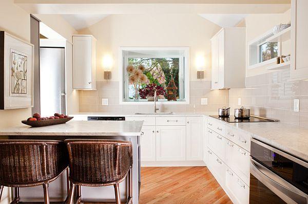 Ultra modern small kitchen design