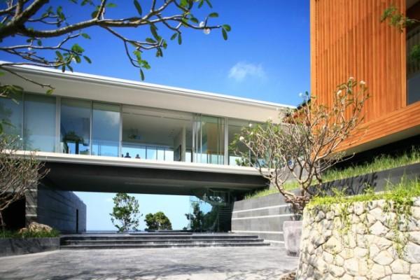Villa Mayavee in Thailand 1 Modern Villa Mayavee in Thailand captivates with fluid charm!