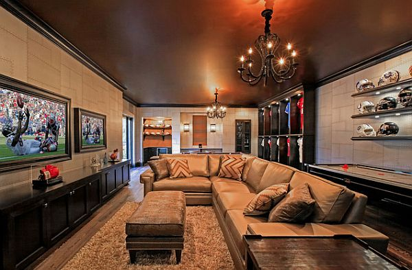 Basement Ideas Man Cave : Tips For Designing The Perfect Man Cave -  Lighcore Lighting