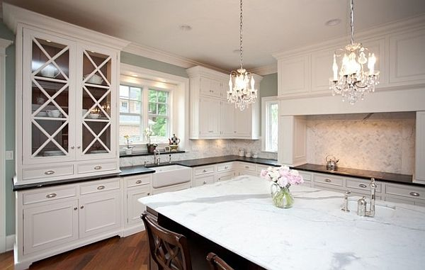 Kitchen remodel 101 stunning ideas for your kitchen design - Traditional pendant lighting for kitchen ...