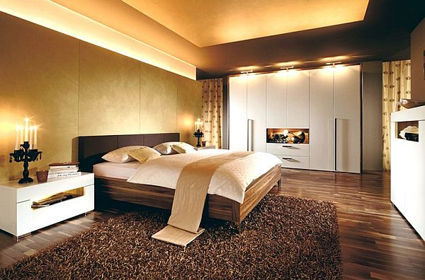 View In Gallery Wooden Tiles For A Modern Looking Bedroom