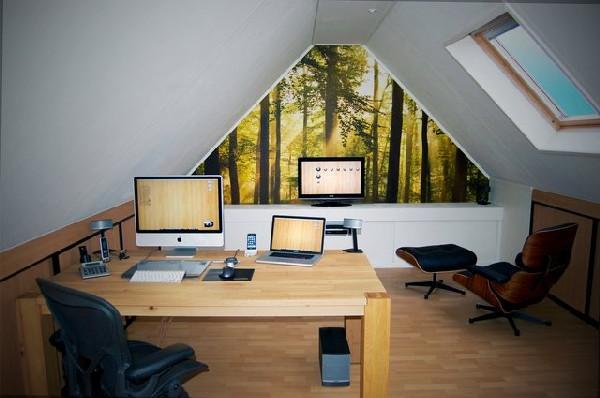 Work-station-in-the-attic-that-promises-plenty-of-light