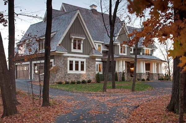 autumn exterior home foliage