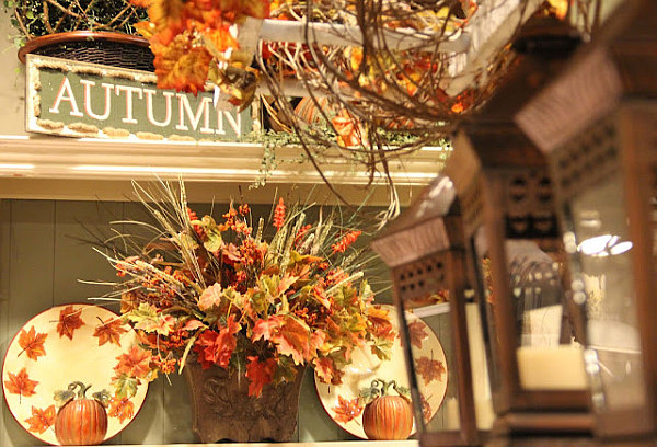 beautiful autumn decorations