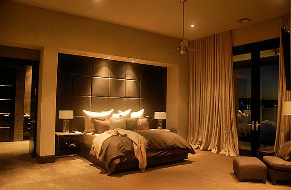 How to create a five star master bedroom - Gorgeous bedroom decoration with various sliding bed table ideas ...