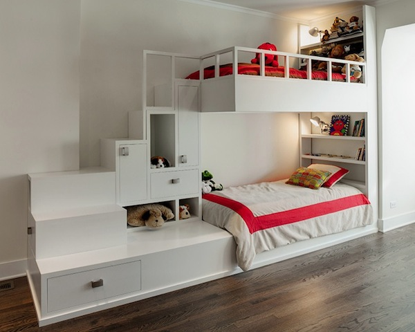 bunk bed with stairs idea