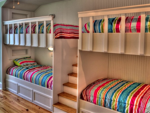 Kids Bunk Beds with Stairs 600 x 453
