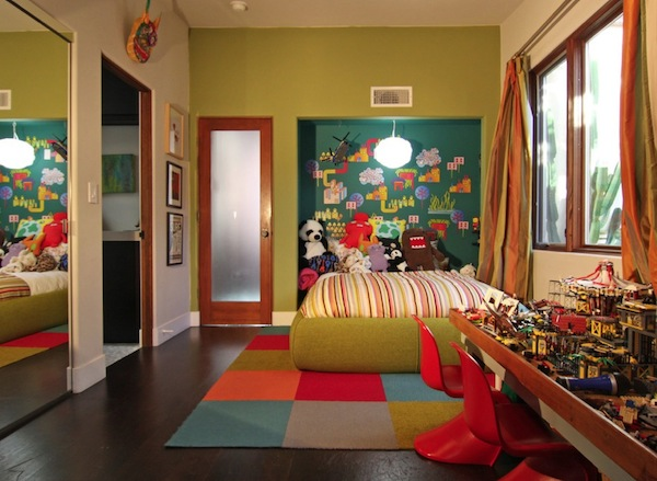 Colorful Boys Room Bright Colors