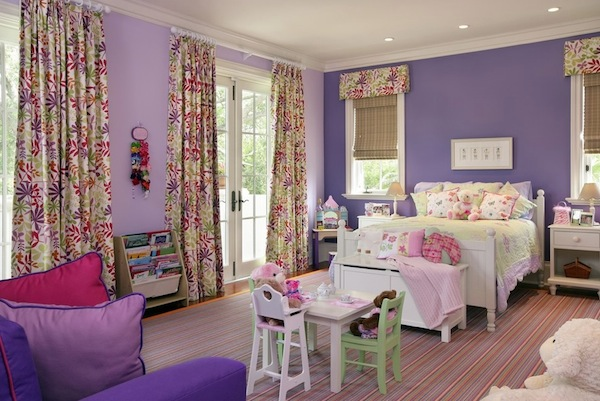 colorful girls room bright colors Updating Your Childs Room With Inspiring Color