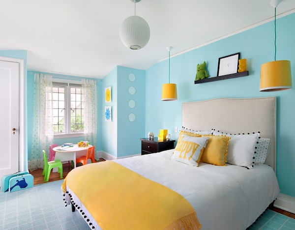 Bright paint colors for kids bedrooms for Paint colors for kids bedrooms