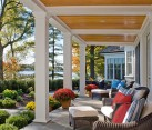 Colorful porch decor idea