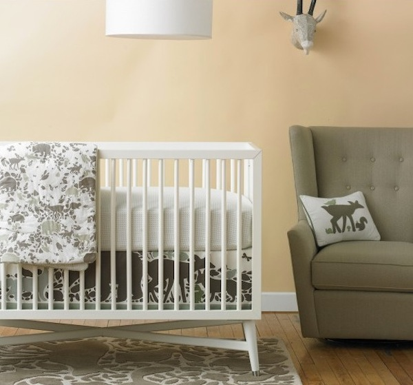creative neutral baby bedding