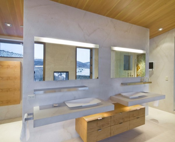 Creating bathroom lighting that commands attention view in gallery custom led mirror lighting aloadofball Image collections
