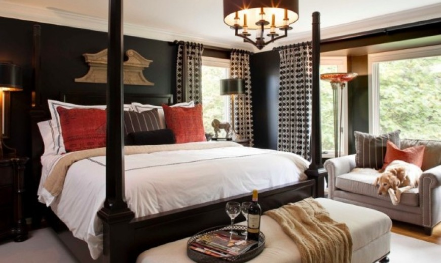 Refreshing Ways to Wake up to Dark Colored Bedrooms