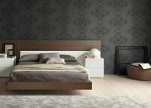 dark wallpaper horizontal bed