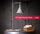 diy light fixtures from upcycled household products