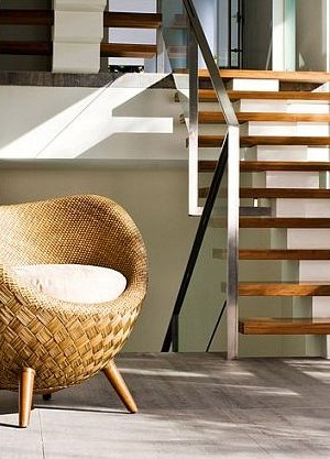 eco-friendly rattan chair by Kenneth Cobonpue