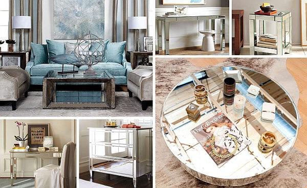 fabulous Mirrored Furniture Ideas