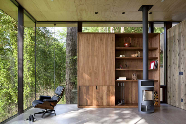 glass mountain cabin