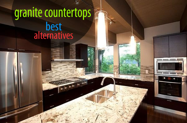 Alternatives To Granite Countertops : granite counters Best Alternatives to Granite Countertops