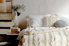 Fall's One Size Fits All Sweater: Textures for Your Home and Bed