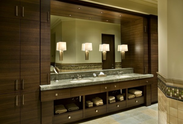 lamp sconces small lighting e1349615192683 Creating Bathroom Lighting that Commands Attention