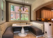 large kitchen booth seating