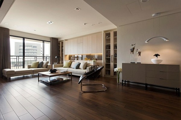 large minimalist living room decor