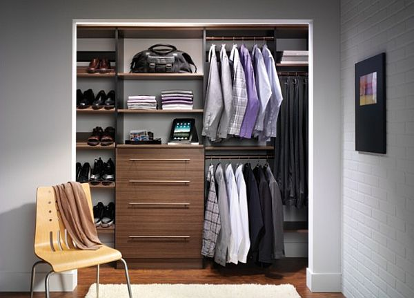 View In Gallery Fancy Master Closet Design For The Stylish Man View In  Gallery Master ...