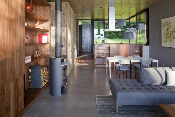 mountain cabin interior design