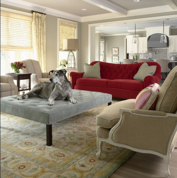 View In Gallery Pet Furniture Ottoman Idea