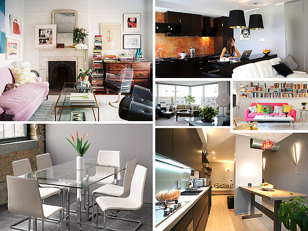 10 small urban apartment decorating ideas for How to decorate a loft apartment