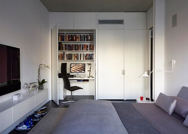 ultra modern teenage boy room design