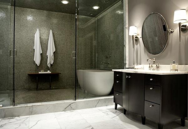 bring an eye catching appeal into your windowless bathroom rh decoist com