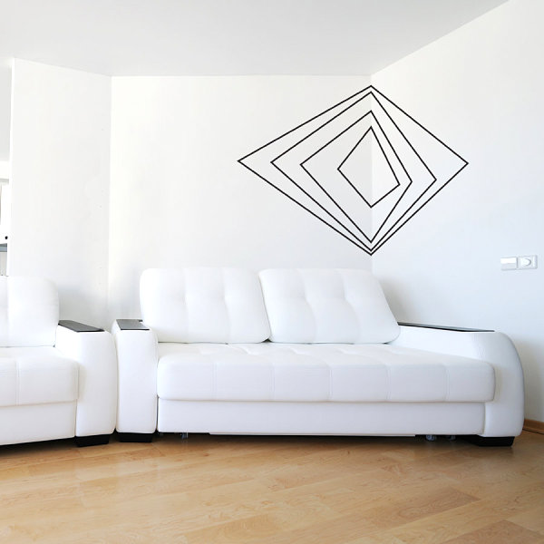Wall Decal Art 12 wall art decals that celebrate modern style