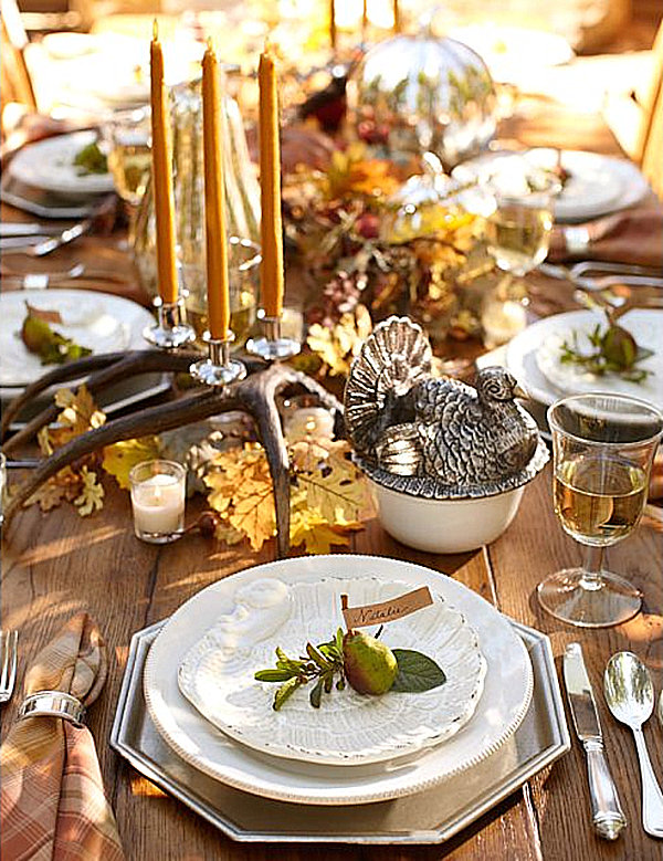 Thanksgiving centerpieces ideas for a festive table Thanksgiving table