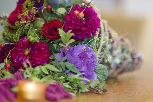 A floral cornucopia