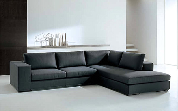 View in gallery A modern Italian sectional sofa