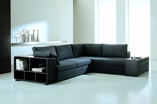 modern sectional sofas for a stylish interior. Black Bedroom Furniture Sets. Home Design Ideas