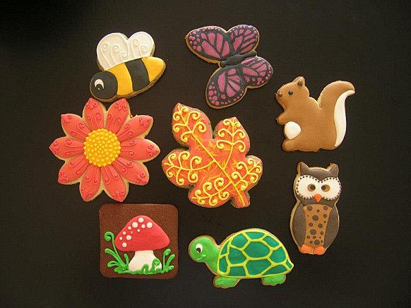 Autumn-themed cookies by Natasha Tasic