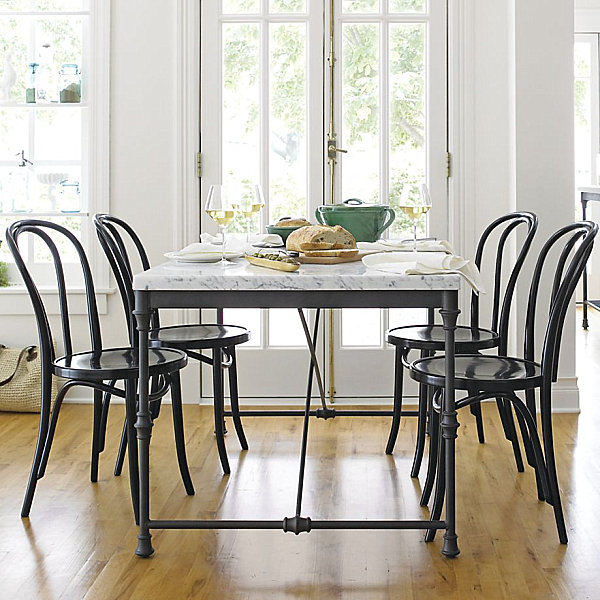 Bistro-style side chairs