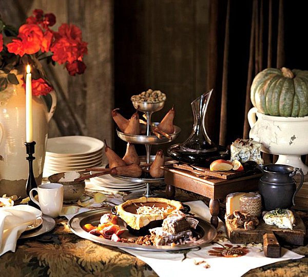 Fabulous Thanksgiving Buffet Table Setting Ideas 600 x 540 · 116 kB · jpeg