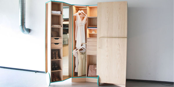 Cheap Walk-In Closet for Small Spaces