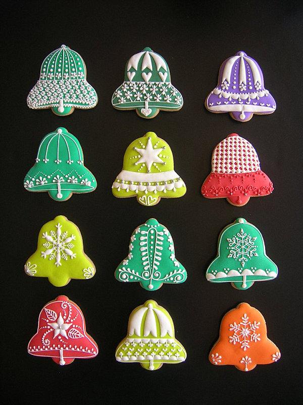Ideas Campanas Navidad Decoradas
