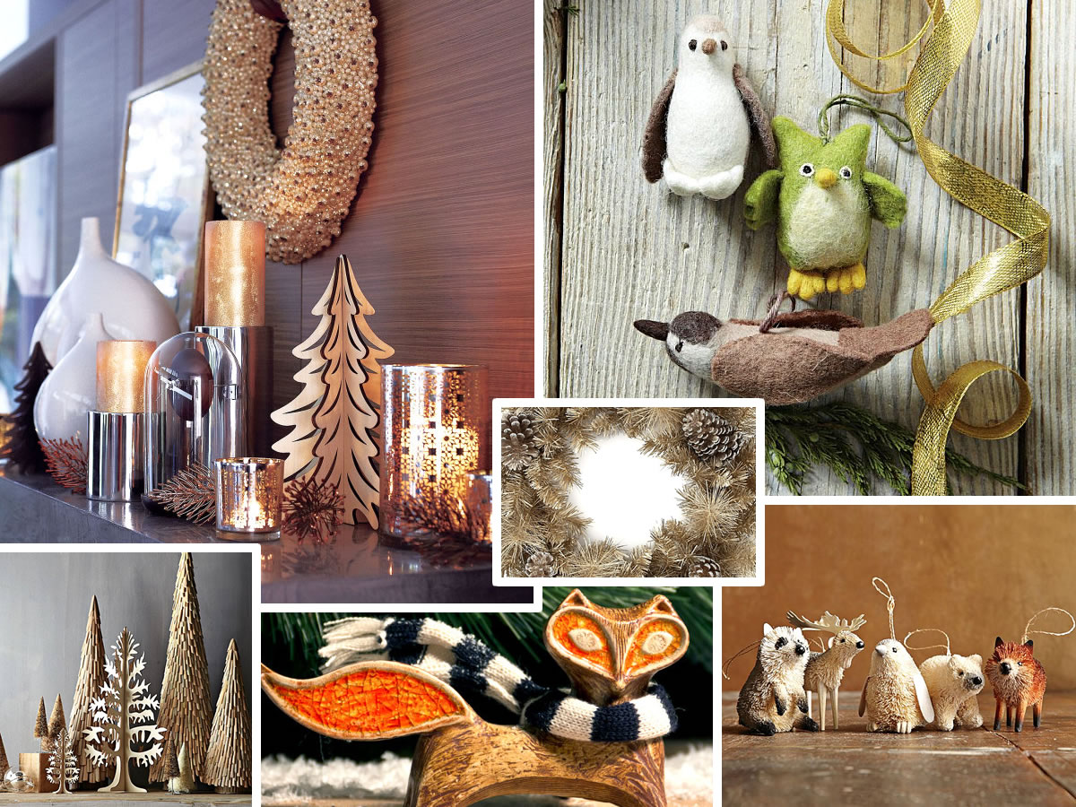 7 christmas decorating trends for the holiday season for Seasonal decorations home