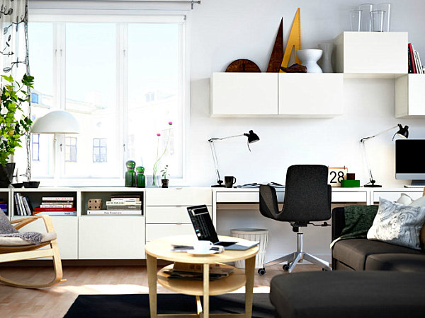 Scandinavian design ideas for the modern living room for Clean interior design