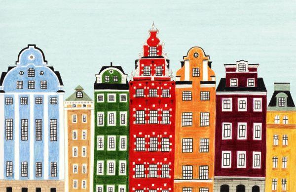 Colorful-Scandinavian-style-artwork