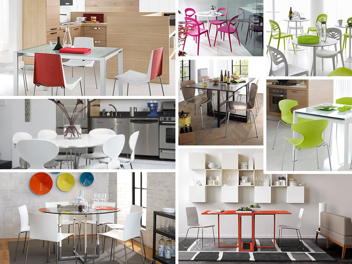 Colorful kitchen tables and chairs Stunning Kitchen Tables and Chairs for the Modern Home